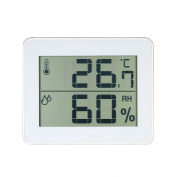 Decdeal LCD Digital Indoor Thermometer Hygrometer Temperature Humidity Measurement °C/°F Max Min Value Display