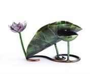 CLOTHES- Lotus Leaf Modelling European Style Creative Wine Shelf Bar Wine Rack Decoration