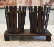 CLOTHES- American Style Retro Handmade Bamboo Individual Creative Wine Bar Home Accessories Decoration