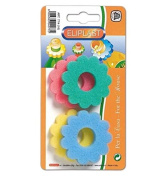 Eliplast Leak-Proof Sponge Assorted Colours 4PZ