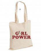 Girl Power Grl Pwr Ladies Rule Mean The Future Is Female This Is What A Feminist Looks Like Freedom Gift Cotton Tote Bag