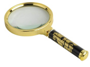 90MM Advanced Fine Dragon Magnifying Glass 5 Times Handheld Magnifying Glass