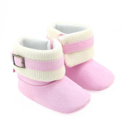 Baby Prewalker Martin Shoes,For 0-18 Months Baby,Toddler Newborn Baby Boys Girls Toe Flats Soft Slippers Winter Cute Bowknot Boots