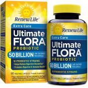 Ultimate Flora Critical Care, Extra-Strength Probiotic, 50 Billion Live Cultures Per Capsule