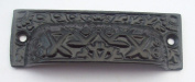 Ironmongery World Cast Iron Antique Decorative Cup Pull Cupboard Kitchen Draw...
