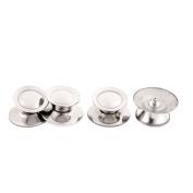 sourcingmap® Kitchen Cookware Skillet Pan Pot Cover Lid Knob Handle 4Pcs