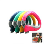 DingSheng Hand carrying device for carrying vegetables Bag Holder Silicone Candy Colour Portable Vegetables Device One Trip Grips Handle Carrier Lock for Kitchen Tool