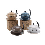 CGB Giftware 1 Soup Inscribed Soup Bowl With Spoon And Lid (Prod: H
