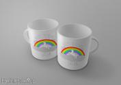 Not today Satan - funny unicorn meme swag - Tea/Coffee Mug