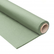 Equipo DRT Ceres Fabric Satin Stripe Ottoman, Trevira CS, 58 x 5 x 35 cm 58x5x35 cm Moss
