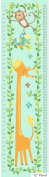 ANIMAL HEIGHT CHART FABRIC PANEL - Animal Height Chart - Panel - NOR67 - By Northcott - 100% Cotton