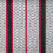 Equipo DRT Cleat Striped Outdoor Fabric Upholstery 58x35x5 cm Nut
