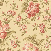 Cotton fabric - Metre - Andover - Crystal Farm - Rose Wheat