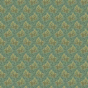 Cotton fabric - Metre - Andover - Crystal Farm - Elderberry Teal