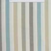 Rasch Natural Brown Fabric Curtain Fabric Raumhoch with Meadow Adhesive Decorative Blue 300 cm
