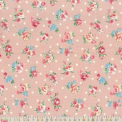 Cotton Fabric - Fat Quarter - Fabric Freedom - All Over Floral - Pink