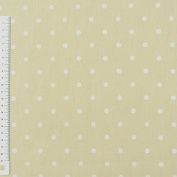 Rasch Bambino Points Vanilla 150 cm Decorative Fabric 100% Cotton Curtain Upholstery Fabric