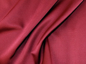 Plain Stretch Satin Dress Fabric Wine - per metre