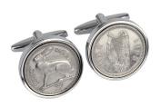 50th Birthday - 1967 Irish Coin Cufflinks