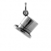 TheCharmWorks Sterling Silver Top Hat Charm