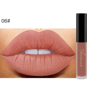 Matte Lip Gloss, ADESHOP Waterproof Lip Gloss Matte Long Lasting Liquid Lipstick