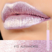 FOCALLURE New Fashion Lipstick Cosmetics Women Sexy Lips Metallic Lip Gloss Lipstick