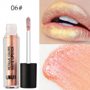 TIREOW UBUB Metal Pearl Lipstick Long Lasting Waterproof ColorStay Non Stick Lipstick 12 Colours
