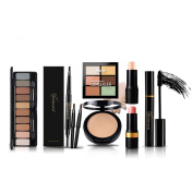 Yeshi Makeup Kit Eyebrow Pencil Eyeshadow Contour Palette Long-lasting Cosmetic Unique Xmas Gift Best Wishes for women