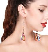 Jovono Dangle Earrings Tassel Eardrop Earrings Boho for Women and Girls