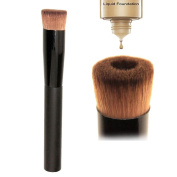 New Pro Multipurpose Liquid Face Blush Brush Foundation Cosmetic Makeup Tools, Black
