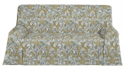 Martina Home Prato scarf, Fabric, Beige, 270 x 300 x 1 cm