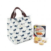 TKSTAR,Portable Cotton Lunch Bag,Cute Reusable Lunch Bag,Tote Soft Bento Cooler Bag