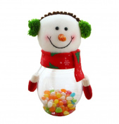 COMVIP Christmas Children Gift Candy Cans Festive Supplies Decorations Snowman
