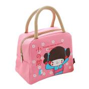 ZXKEE ZXKE Oxford Reusable Lunch Bags Cartoon Cooler Bag For Children Women