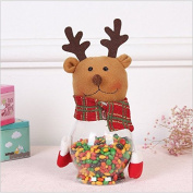 DaoRier Christmas Candy Box Candy Jar Candy Bottles Christmas decoration