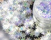 Nail Art Christmas Winter Snowflakes 6mm