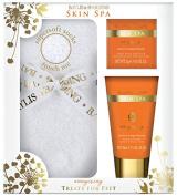 Baylis & Harding Pedicure Gift Set, Skin Spa Energising, Neroli and Orange Blossom