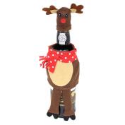 Felt Fabric Novelty Christmas Wine Bottle Cover Table Decoration - Reindeer