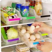 Wicemoon Kitchen Fruit Drinks Vegetable Spices Storagr Box Refrigerator Storage Basket Food Grade Plastic Wicker Laundry Baskets