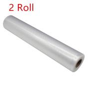 XXYsm Vacuum Fresh Food Shield Bag Rollers Food Storage Bags Kitchen Packaging Tool - 2 Rolls