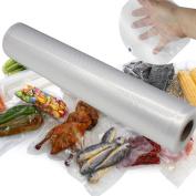 QuiCi Vacuum Food Sealer Roll Bags Food Grade Plastic Saver Seal Storage Bags