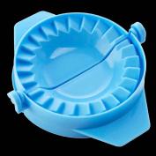 LUFA 2pcs Creative kitchen gadget artefact package dumplings Boiled dumplings mould blue