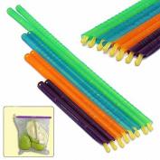 COFCO 8pcs Seal Sticks Storage Chip Bag Fresh Food Snack Clip Grip