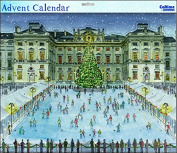 Grand Advent Calendar (WDM0086) - Somerset House Ice Skating - Glitter Varnished