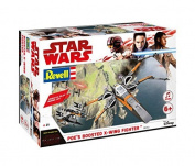Revell Star Wars Episode VIII Build & Play Poe's Boosted X-Wing, With Lights & Sounds
