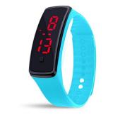 Latest Trend Children Wristwatch - Cool Fitbit Style Watch - Sleek LED Display