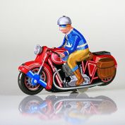 V17 Motorbike TIN VEHICLE NEW MODEL Toy Wind Up Action Retro ADULT COLLECTIBLE …