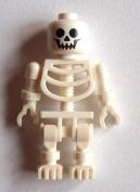 LEGO 10 White Skeleton Standard Classic White Skeleton Minifigure