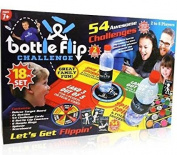 Bottle Flip Challenge Board Game - Family Fun For 2-6 Players