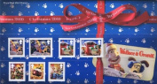 2010 Christmas with Wallace and Gromit Stamps in Presentation Pack